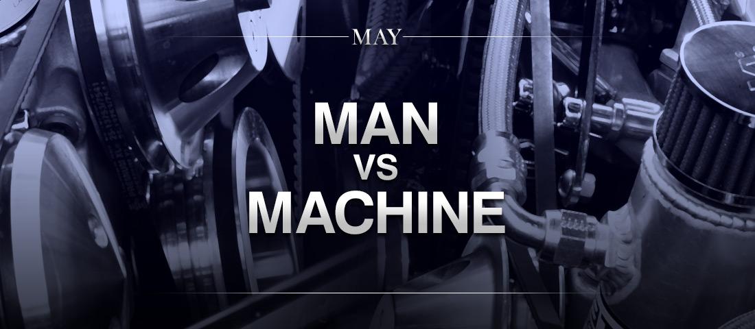 man vs machine Hikaru nakamura will play a groundbreaking man-vs-machine chess event this sunday as he is slated to face 20 levels of the komodo chess engine on chesscom before.