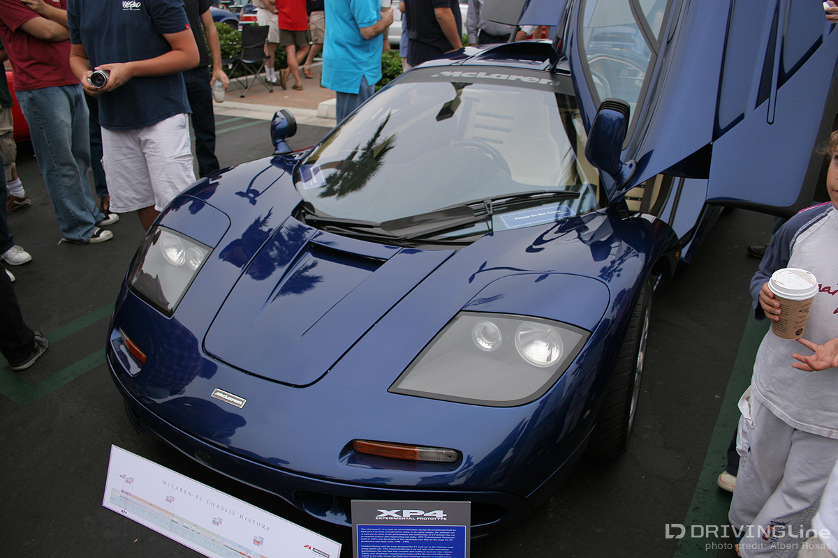 The Crystal Cove Event Was The First Sighting Of Many Of The Most Highly  Sought After Exotics At The Time: McLaren F1 (Prototype) ...
