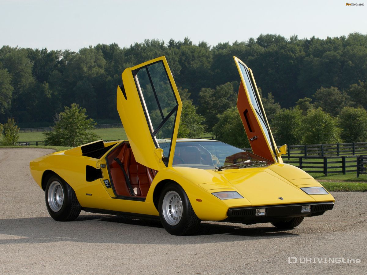 Europe, However, Was Not Only On Stable Footing But Pushed The Envelope To  The Extreme   Just Look At The Lamborghini Countach And Consider The Most  Popular ...
