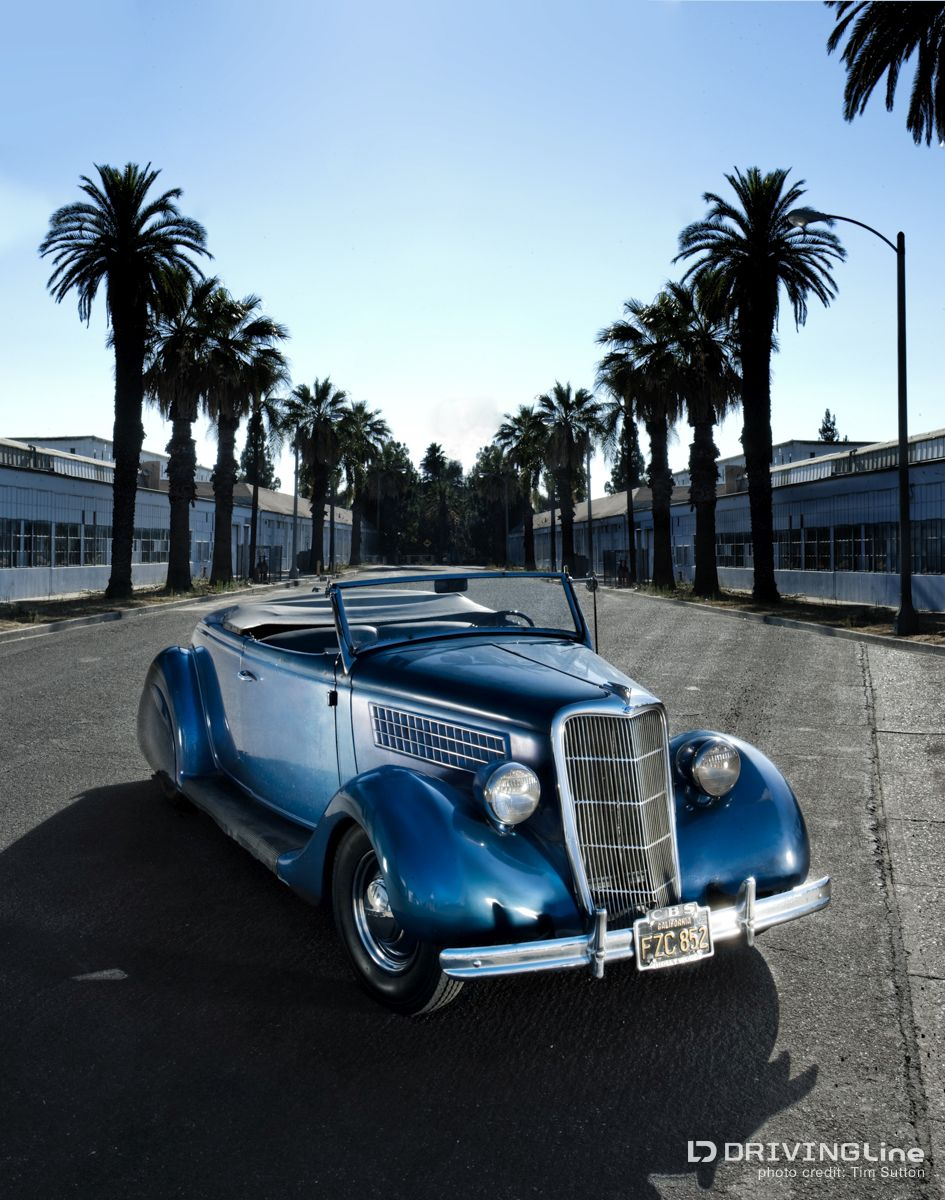 Custom Styling of the \'40s: Ralph Flaaten\'s 1935 Ford Roadster ...