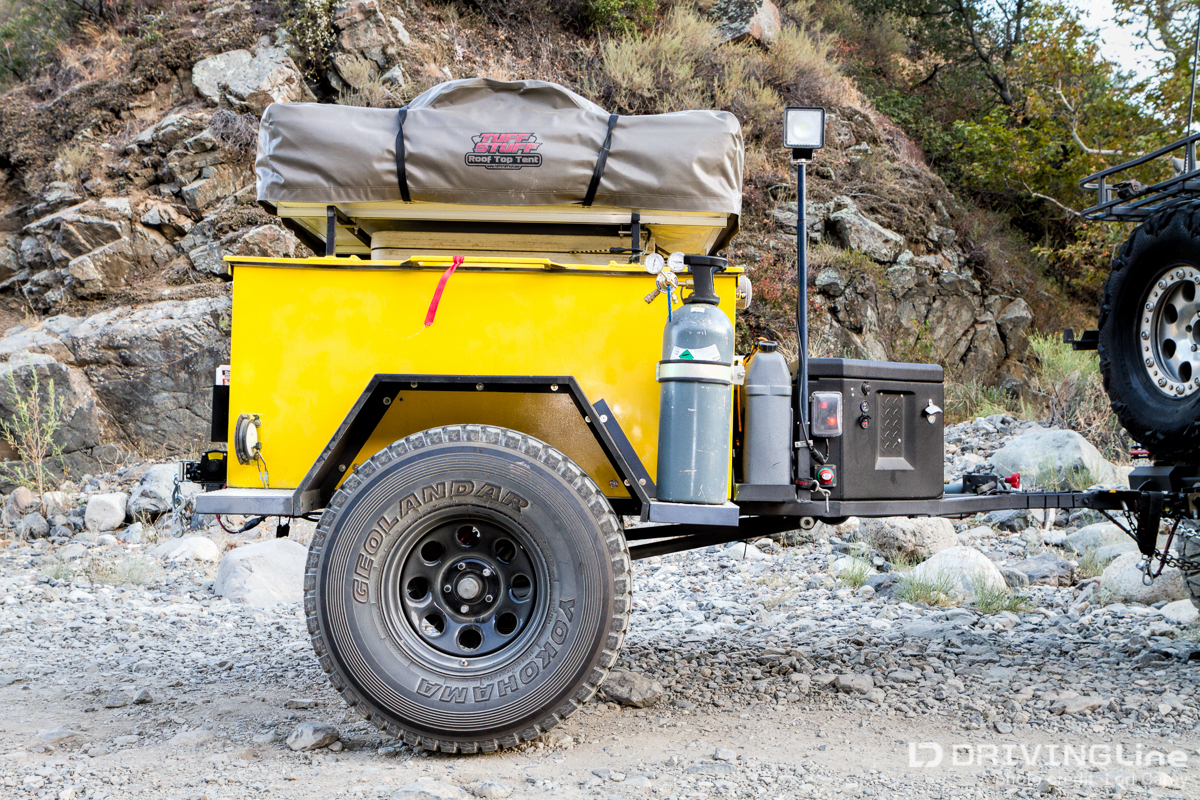 SURVIVE+THRIVE Off-Road Trailer Build | DrivingLine