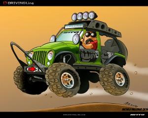 Cartoon The Ultimate Jk Drivingline