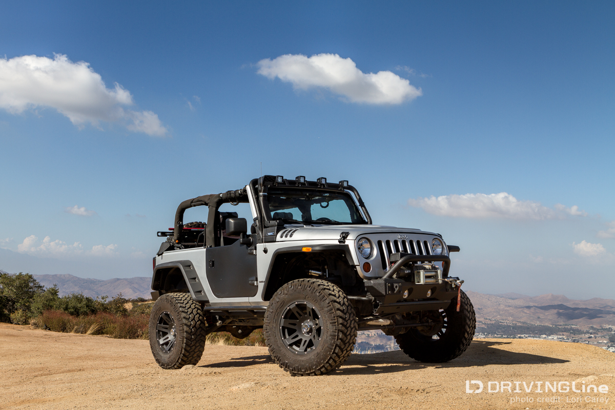 a jk build that's a level up | drivingline