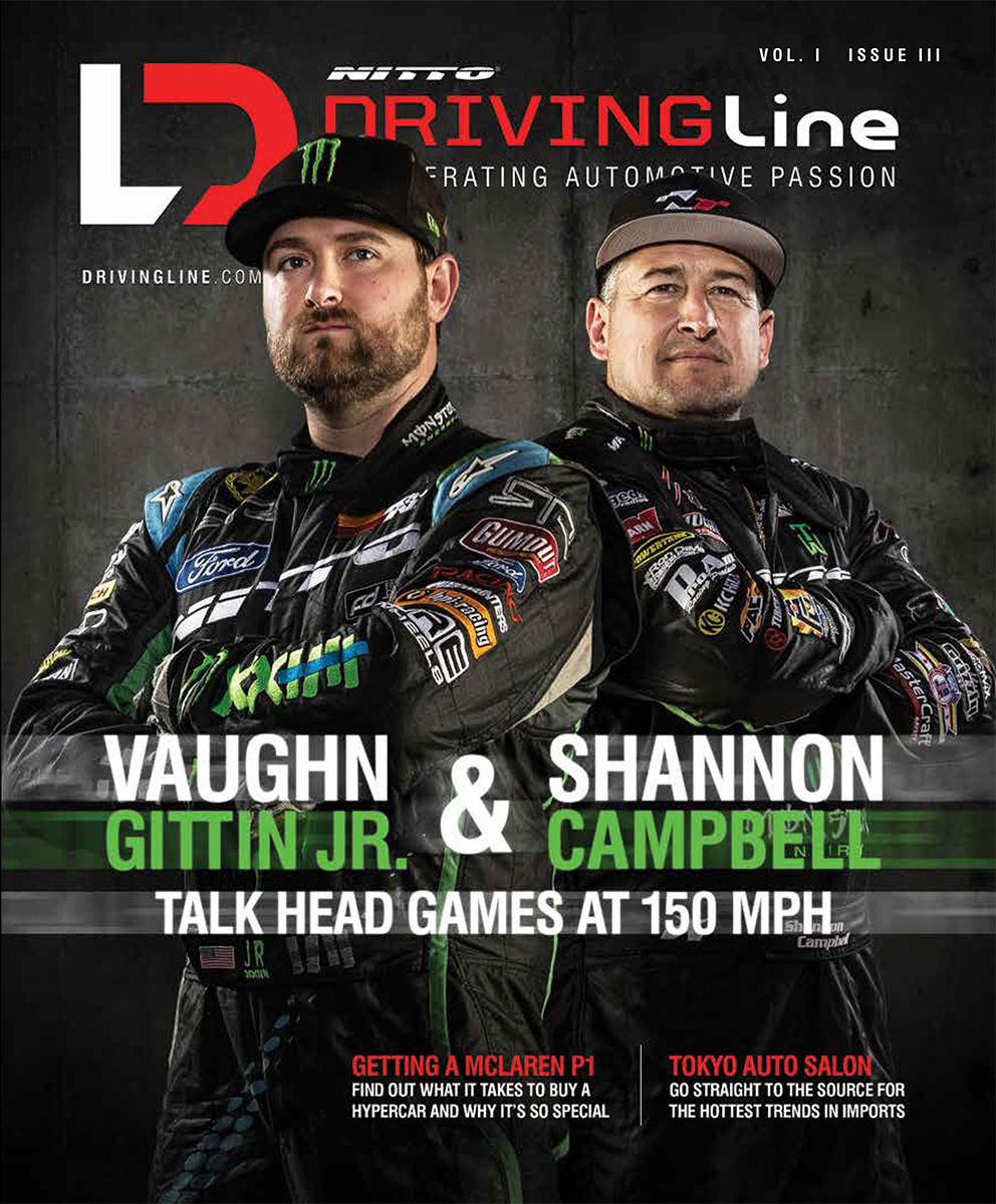 DrivingLine Print Issue 3 Cover