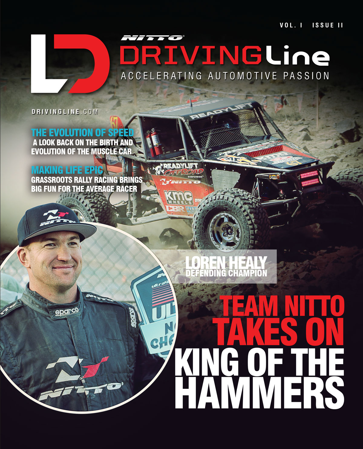 DrivingLine Print Issue 2 Cover