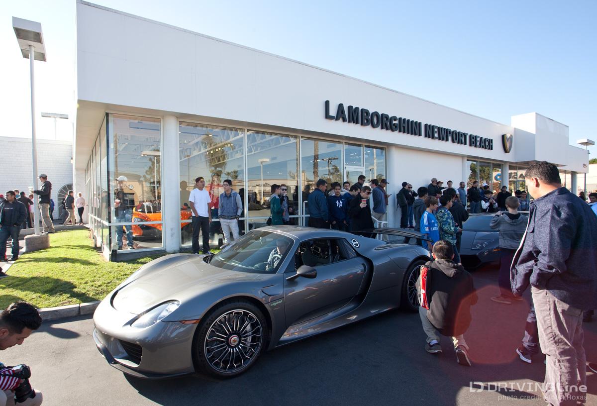 Now What Cars Coffee Alternatives DrivingLine - Newport lamborghini car show
