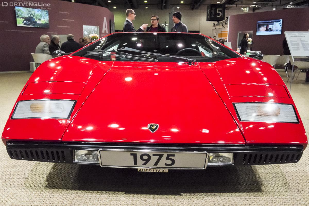The Italian Job At Bremen Classic Motorshow DrivingLine - Sports cars 50s
