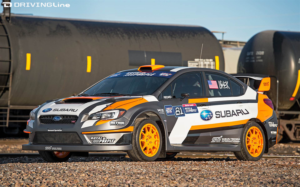 Battle Ready: 2015 Rallycross Subaru STI | DrivingLine