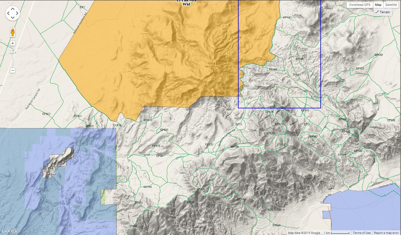 Exploring The El Paso Mountains DrivingLine - El paso california