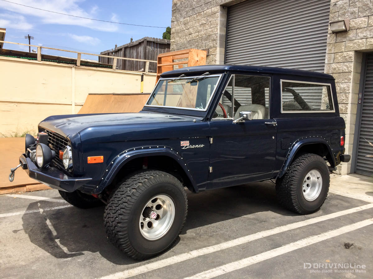 Grew by the side of the freeway tiffany would sell plutonium engagement rings thus the restored vintage bronco is born and she is a beauty