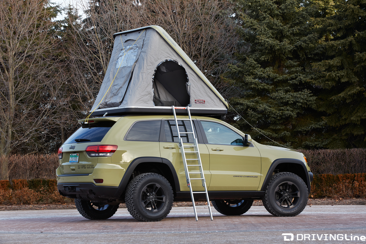 Built for the enthusiast who enjoys overlanding and car c&ing the Overlander features a pop-up hardshell roof top tent that ... & Jeep Debuts Seven New Concept Vehicles at Easter Jeep Safari ...