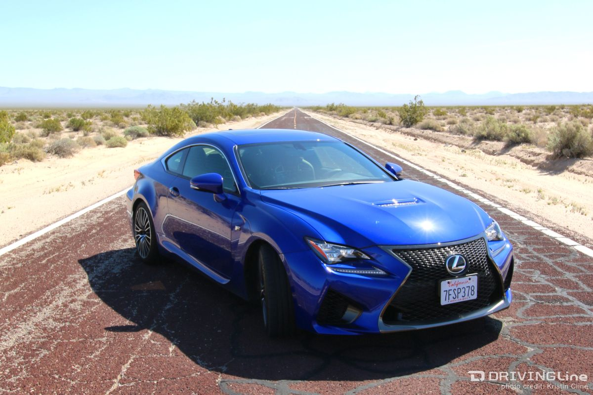 The mad dash to vegas in a lexus rc f