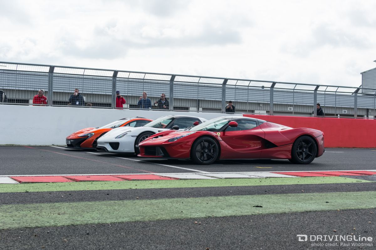 The Holy Trinity Of Hypercars At Silverstone Drivingline
