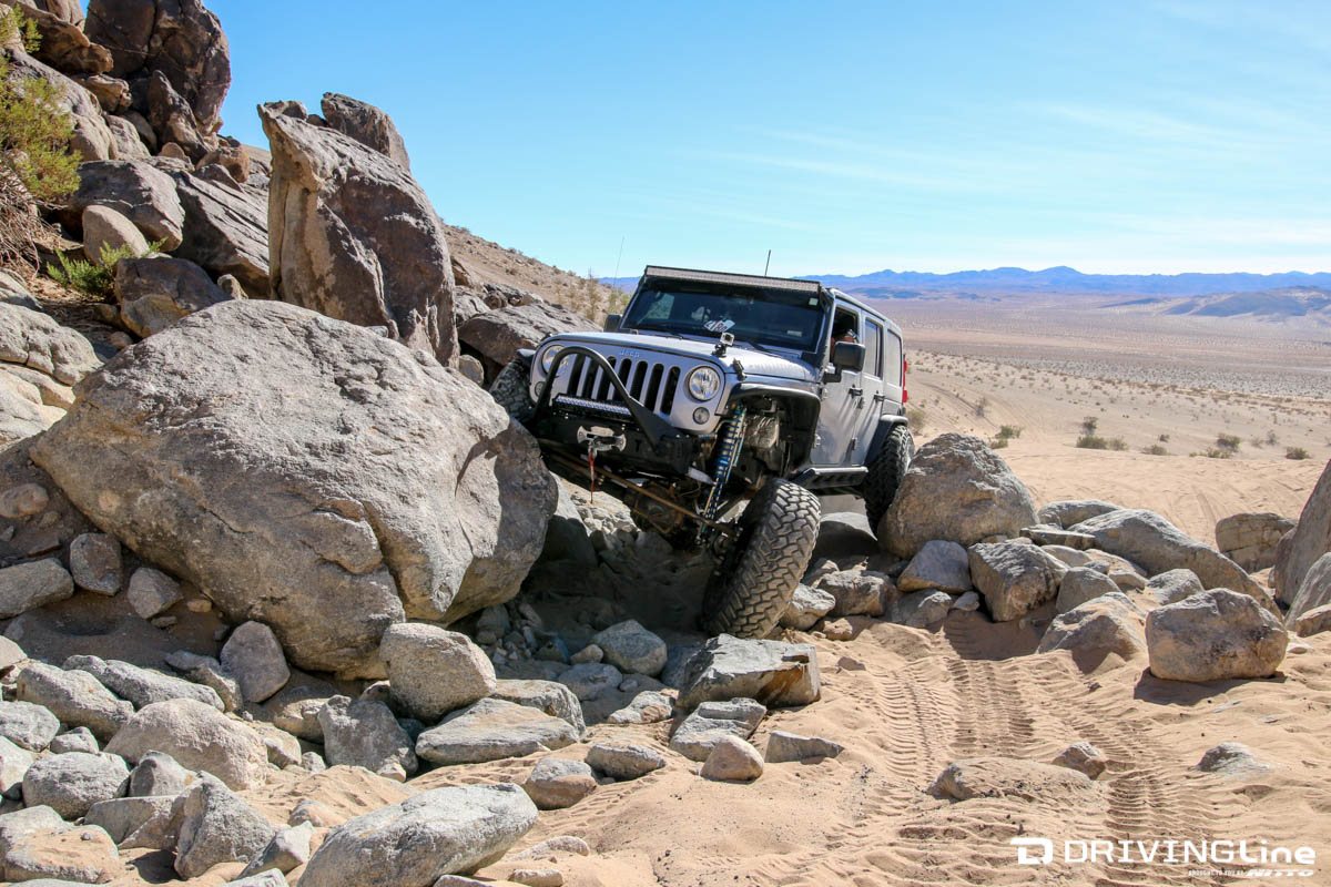 Trail Reviews with Mel Wade: Johnson Valley's Chocolate Thunder ...