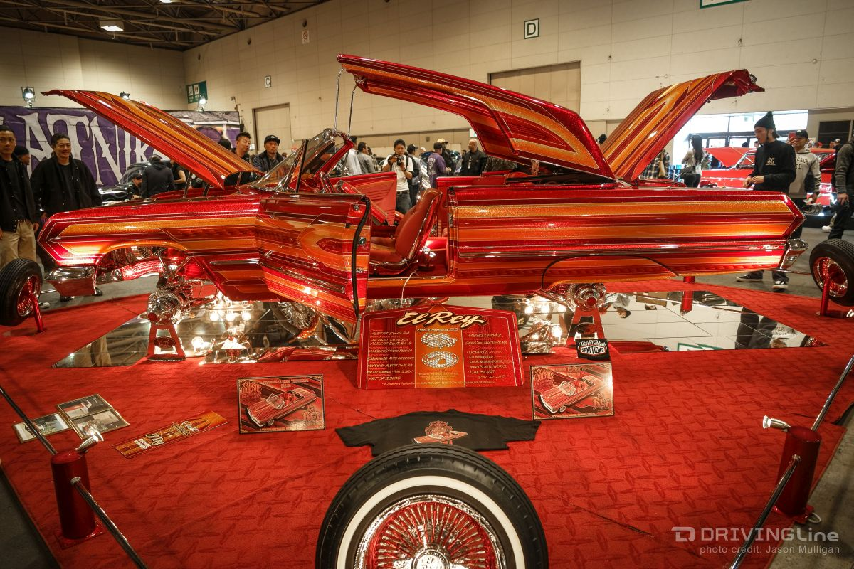 Lowriders Invade Japan: Classic Legends Car Show