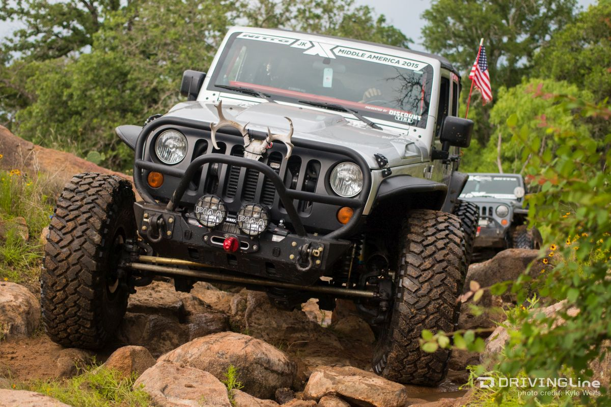 2015 Jk Experience Middle America Tackles Texas Drivingline