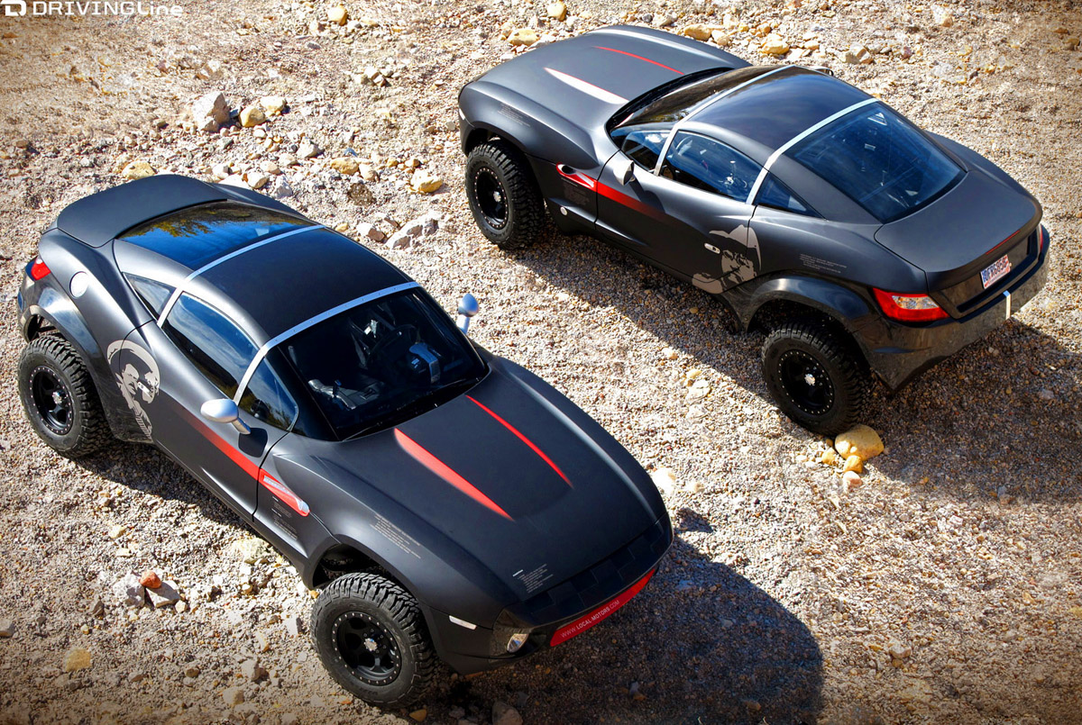 Ford Mustang Baja Concept Redneck Raptor Or Perfect Pony