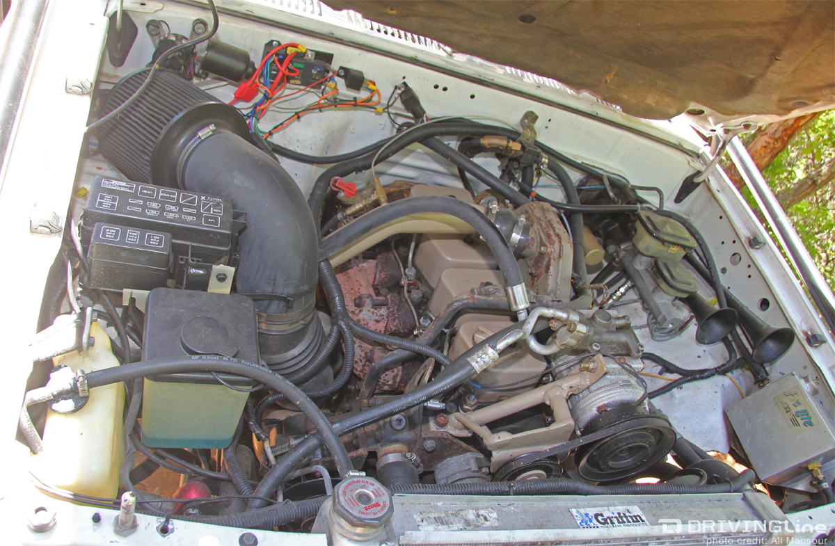 1987 toyota pickup 4x4 engine
