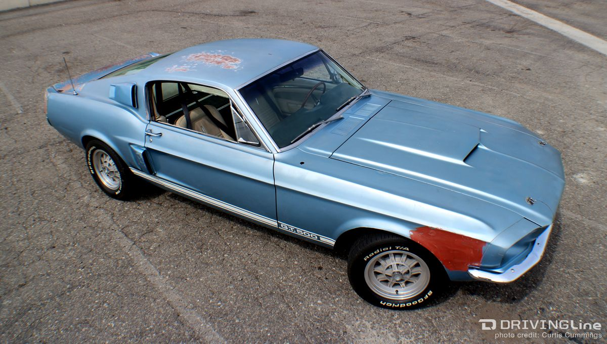 Unrestored and Unhinged 1967 Shelby GT500 | DrivingLine