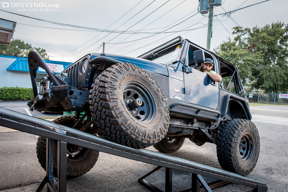 Flexing For Fun With Low Range 4x4 Drivingline Jeep Jk 37 Inch Tires