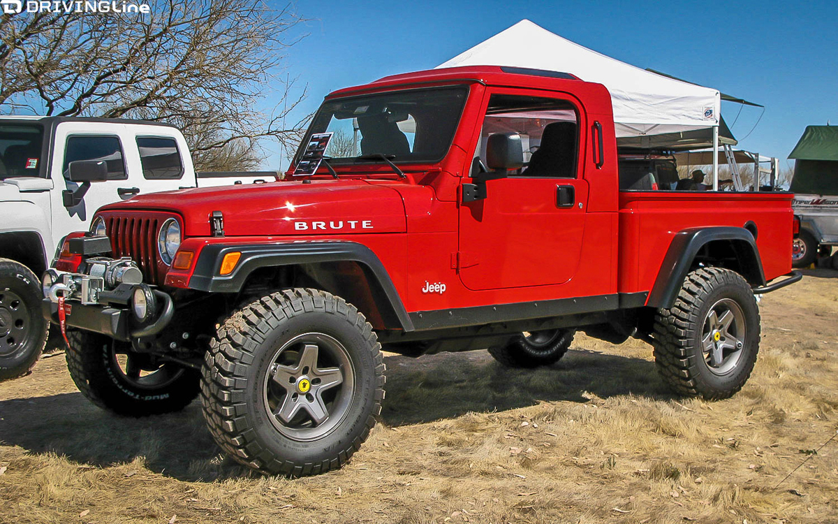 Project Trucks For Sale Cheap >> Is the Jeep Pickup Truck Making a Comeback? | DrivingLine