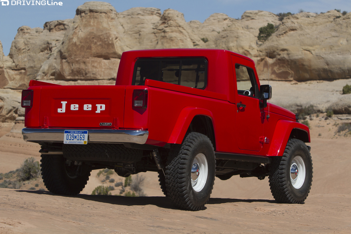 is the jeep pickup truck making a comeback drivingline. Black Bedroom Furniture Sets. Home Design Ideas