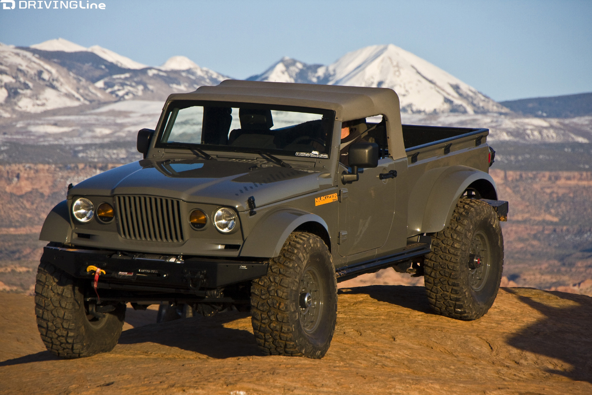 Is The Jeep Pickup Truck Making A Comeback Drivingline