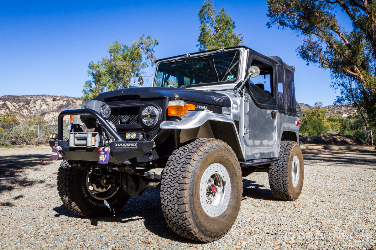 1969 toyota land cruiser fj 40 build in motion