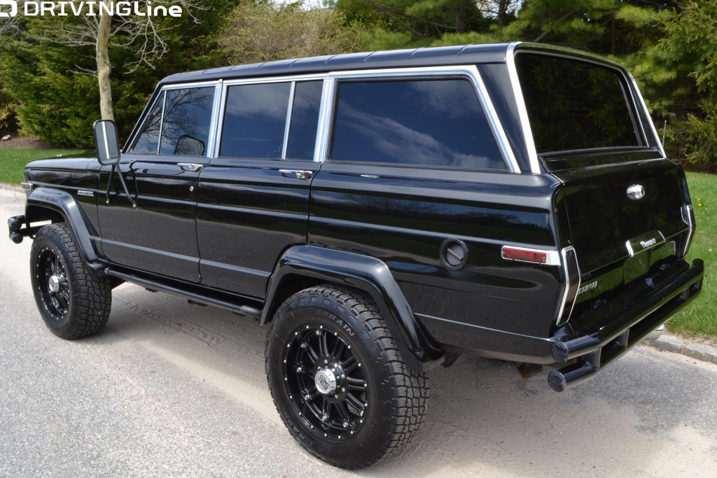 Custom Jeep Grand Wagoneer >> Arnold Schwarzenegger's Diesel Jeep Wagoneer | DrivingLine