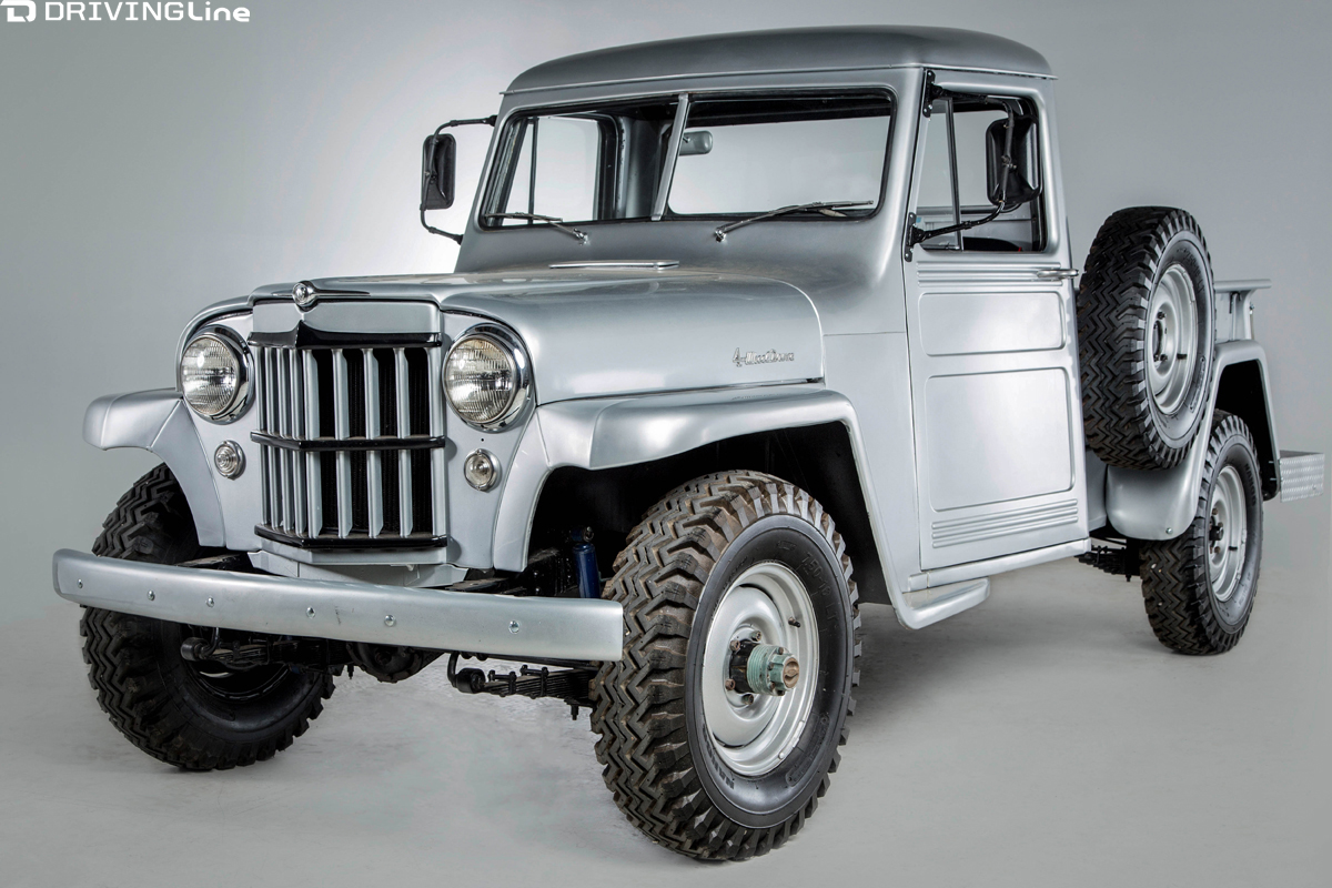 Vintage Omix-ADA Jeep Collection Coming To SEMA | DrivingLine