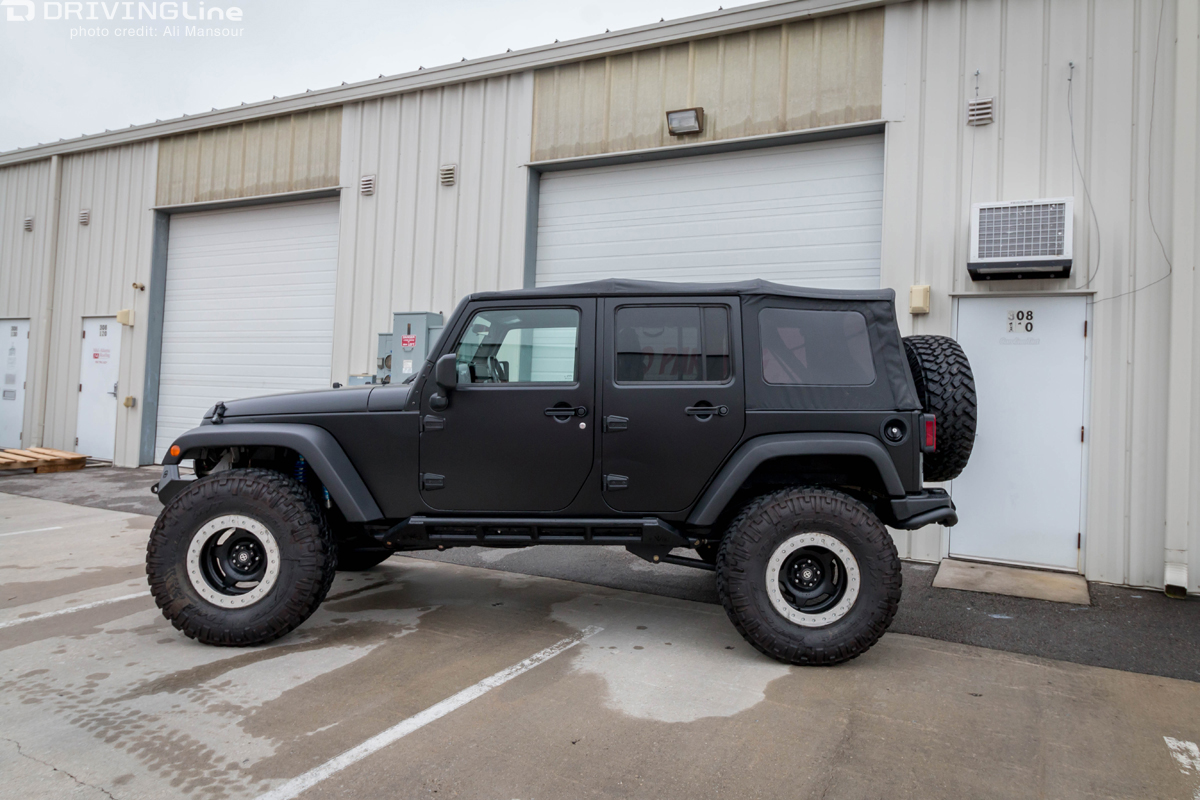 3m Vinyl Vehicle Wrap Our Jeep Jk Gets A New Paint Job Without