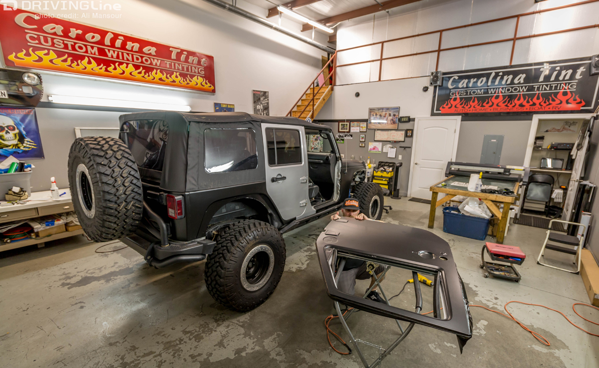 3m vinyl vehicle wrap: our jeep jk gets a new paint job without